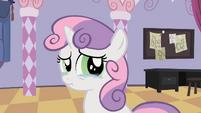 Sweetie Belle tears up S2E05