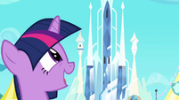 Twilight's big smile S3E2