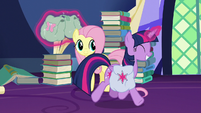 Twilight Sparkle trotting happily S5E23