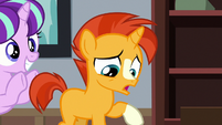 Young Sunburst feeling very uncomfortable S7E24
