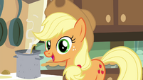 "Applejack ""What do you think, Maud?"" S4E18"