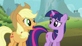 Applejack 'She could be anywhere' S2E02.png