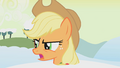 Applejack angry at Twilight S1E11.png
