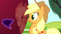 Applejack notices the Tantabus' reflection S5E13