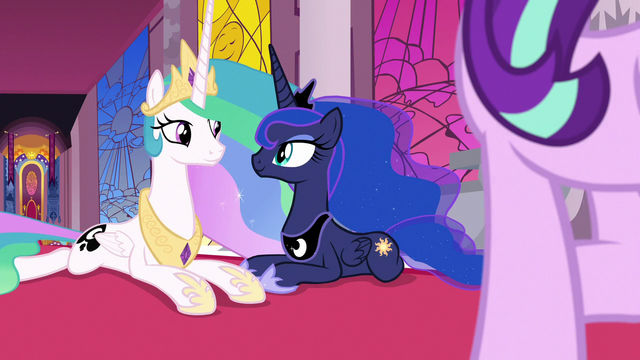 File:Celestia and Luna smile at each other S7E10.png