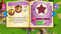 Cheese Sandwich album page MLP mobile game