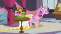 Chrysalis as Cadance kicking the table S2E26.png