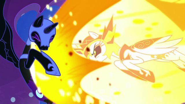 File:Daybreaker charges into Nightmare Moon S7E10.png