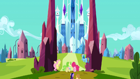 Entering the Crystal Empire S3E12