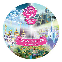 Explore Equestria Greatest Hits vinyl cover