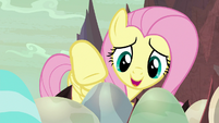 "Fluttershy ""time to come out"" S9E9"