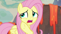 "Fluttershy ""too scared to come out"" S9E9"