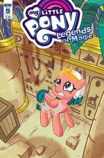 Legends of Magic issue 5 sub cover
