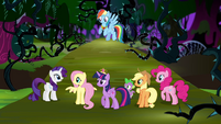 Main six in the Everfree Forest S4E2