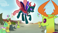 Pharynx gently falling back to the ground S7E17