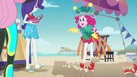 "Pinkie Pie ""I'll be back before it starts"" EGDS16"