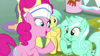 "Pinkie Pie ""commend the cookie dough!"" MLPS5"