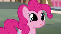 Pinkie Pie licking her lips S5E22