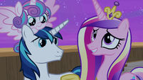 "Princess Cadance ""they were breathtaking"" S7E22"