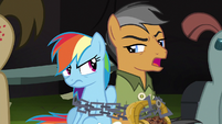 "Quibble ""call off the henchpony repertory theater"" S6E13"