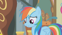 Rainbow Dash --I didn't know how rude she was-- S1E05