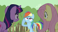 Rainbow Dash feeling dizzy S2E02