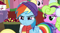 Rainbow Dash looking impatient BGES1