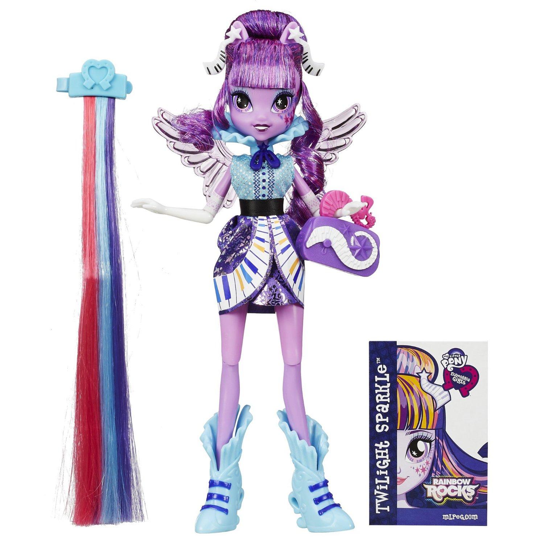 Image Rainbow Rocks Twilight Sparkle Rockin Hairstyle Dolljpg - Rockin hairstyles dolls
