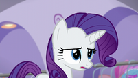 "Rarity ""each dress lost its time, love, and couture"" S5E14"
