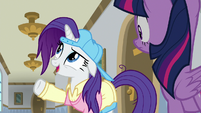 "Rarity ""return those sewing machines"" S8E16"