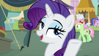 Rarity -I need a dozen lavender pieces- S7E19