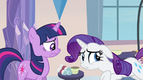 Rarity something's gone S3E12