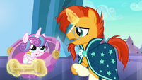 "Sunburst ""it's possible they've come for the baby"" S6E16"