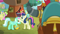 Sweetie Drops putting flower on Lyra's head S5E11.png
