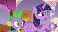 "Twilight Sparkle ""some sort of sea madness"" S6E22"