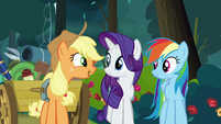 "Applejack ""this is Starlight's first time"" S8E13"