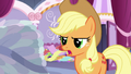 """Applejack """"who cares if it's stitched perfectly?"""" S7E9.png"""