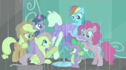 Brazilian Portuguese My Little Pony Generosity Song - Reprise HD