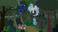 Celestia and Luna help the Filly Guides S9E13