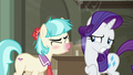 Coco Pommel sneezing in Rarity's face S6E9.png