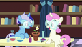 Filly Minuette and Twinkleshine grow a flower S7E1.png