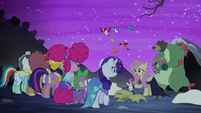 Fluttershy accepts that Nightmare Night isn't for her S5E21
