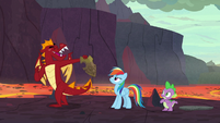 Garble -thanks for the tip- S7E25