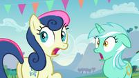 Lyra y BonBon Impactadas S5E24