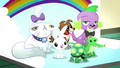 Mane Six's pets pose for their photo SS7.png