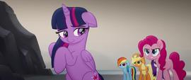 Pinkie Pie getting upset at Twilight MLPTM
