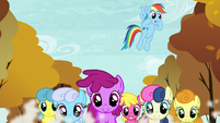 "Rainbow Dash ""You're doing awesome"" S05E05"