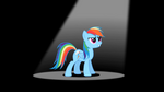 Rainbow Dash 'Something flying' S2E07