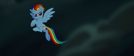 Rainbow Dash about to help save her friends MLPTM