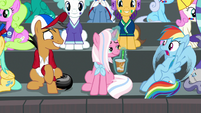 "Rainbow Dash going ""whaaaa"" S9E6"